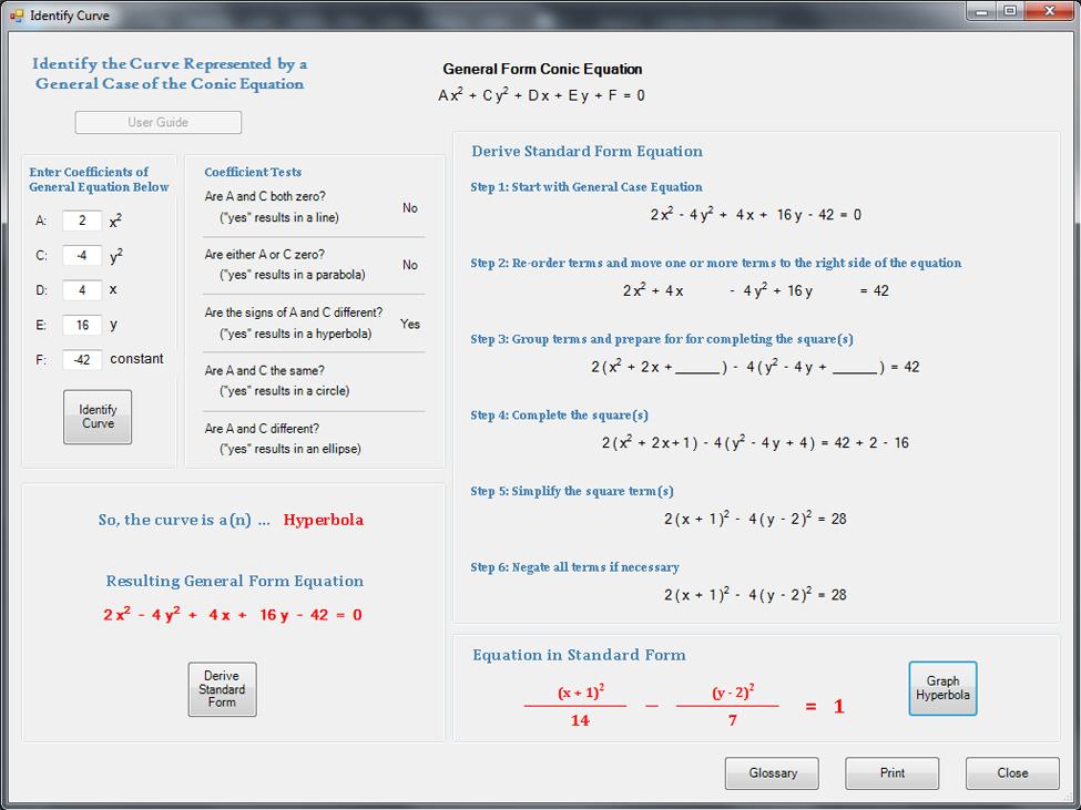 Algebra Main App